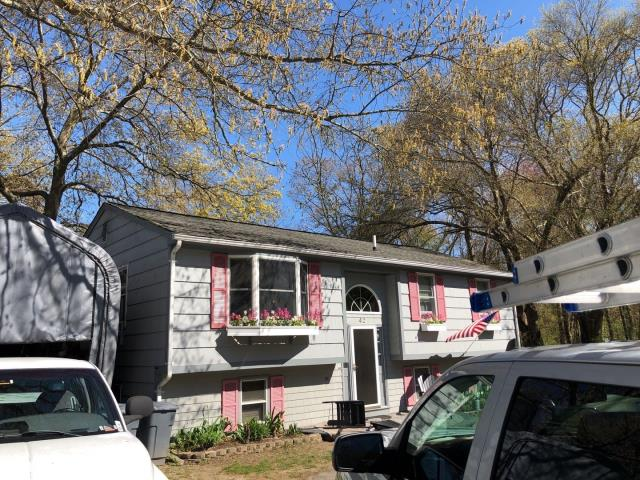 Exeter, RI - This roof will be getting replaced in one day! Existing shingles will be removed and a full GAF Roof system will be installed with a 50 year warranty! GAF Timberline HDZ shingles will be used. Best shingle on the market!