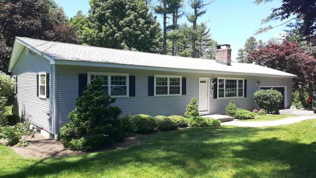 Hopkinton, RI - This full replacement is complete in Hopkinton RI! New roof one day! New roof no Mess! Installed GAF Timberline shingles with all GAF accessories. Golden Pledge Warranty.