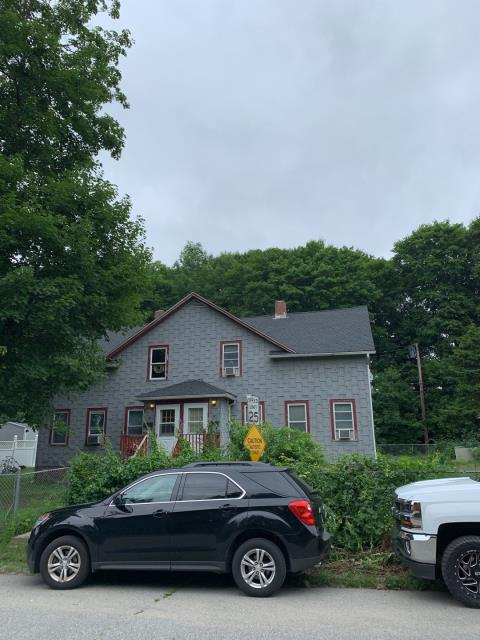 Plainfield, CT - This roof is complete! Our roofing crew removed the old worn out roof shingles and installed new sheathing to entire roof to provide a solid surface for the new roof shingles. We installed GAF Timberline HDZ shingles. 50 Year warranty. New roof no mess. New seamless gutters and gutter guards will be replaced.