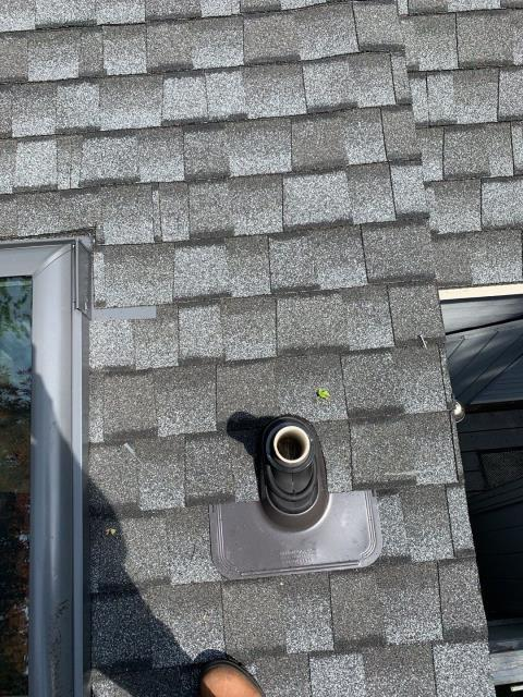 South Kingstown, RI - Installed the ultimate pipe flashing on this new GAF roof. Our homeowner will never have to worry about leaky pipe flashing ever again! Lifetime Warranty. GAF Timberline ULTRA HD shingle looks great to!