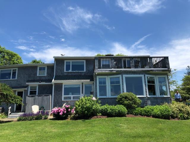 Charlestown, RI - Roof replacement in Charlestown RI. This roof is leaking and needs to be replaced. New GAF timberline shingles will be used to replace the old shingles.