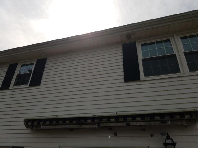 Waterford, CT - Measuring a roof in Waterford Ct that needs to be replaced. Checking for proper venting. A new GAF roof shingle is a great option for the new roof!