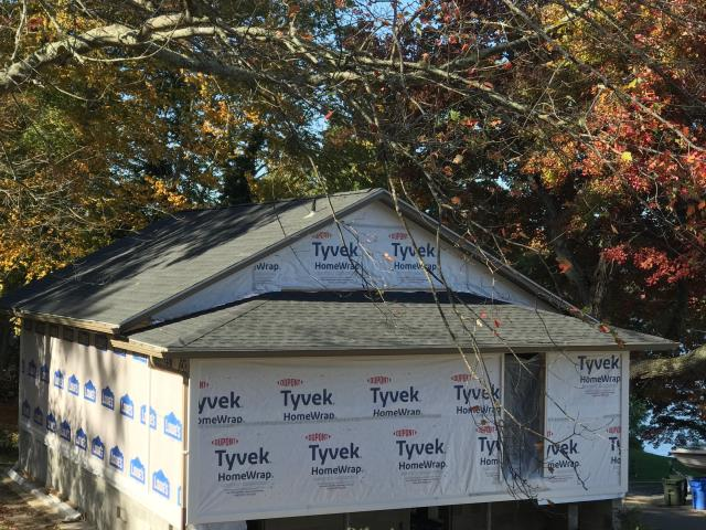 Voluntown, CT - Another quality roof installation was just completed in Voluntown CT. GAF Timberline shingles were installed.