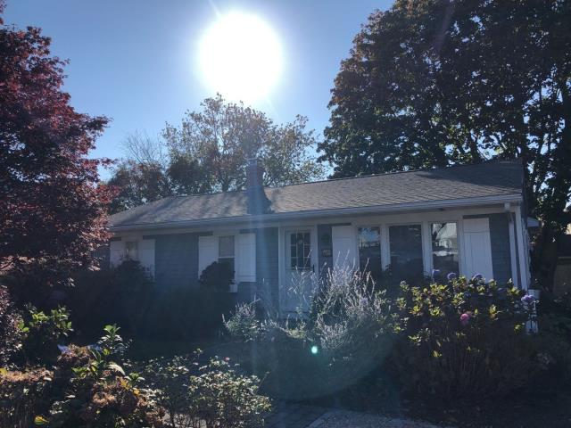 Narragansett, RI - This full roof replacement in RI is complete! Removed old shingles first and installed a new GAF Timberline HDZ roof shingle. Number one shingle in USA! Golden Pledge warranty. Gutter replacement will be next