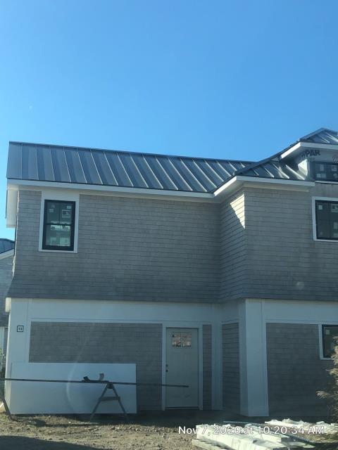 South Kingstown, RI - Just completed this Standing seam metal roof in South Kingstown RI. On to the next one!. Metal roofing is a great option for a long long lasting roof!