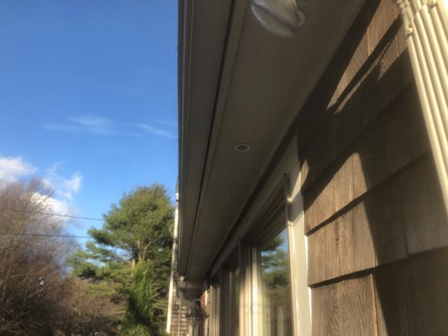 South Kingstown, RI - Installed new soffit vent to allow air flow to attic