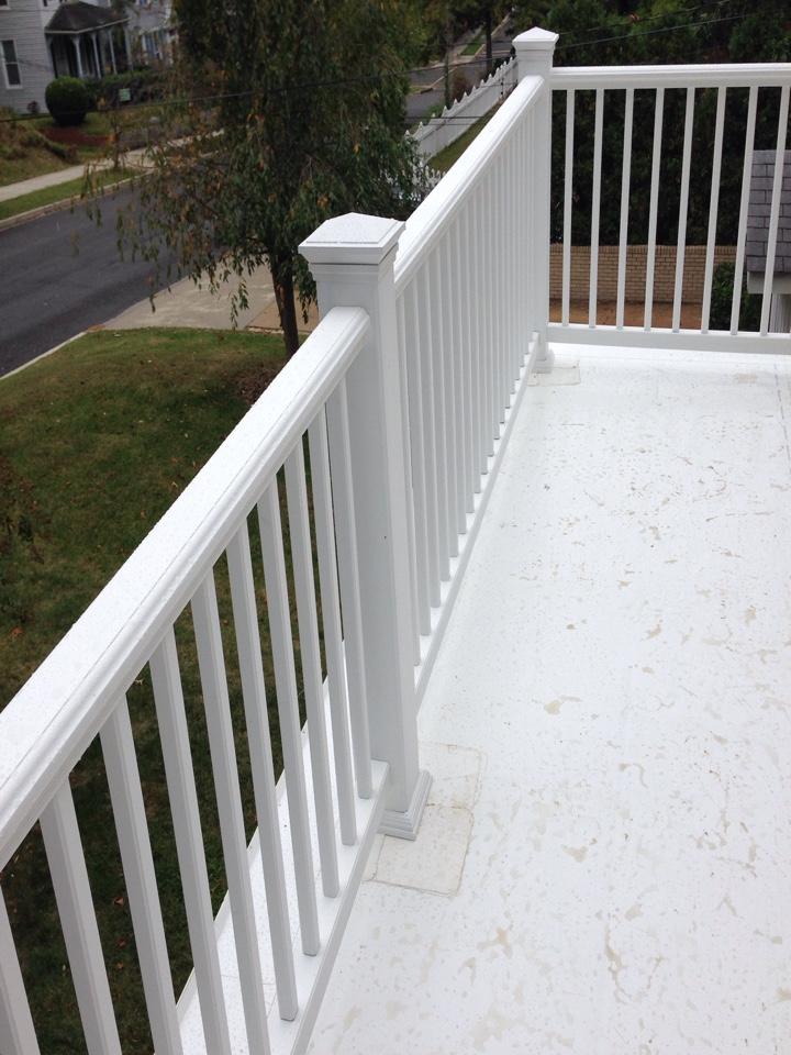 Washington, DC - Installing a transform railing redefined.