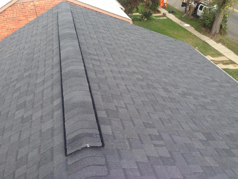 Washington, DC - Just finished a  shingle roof