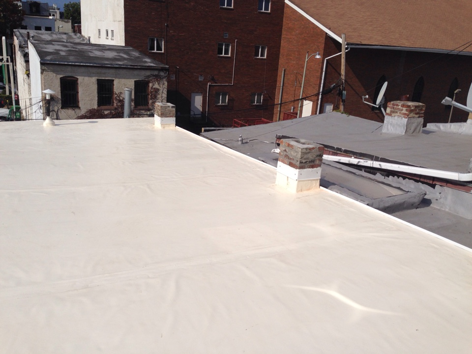 Washington, DC -  Just finished a fibertite flat roof