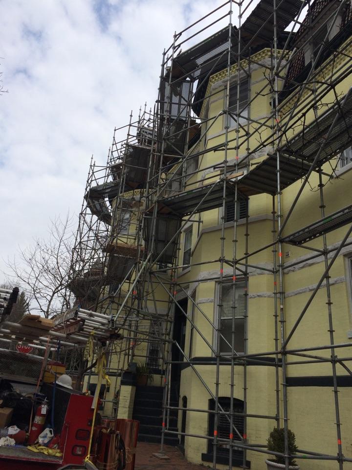 Washington, DC - Repairing a Mansard in NW Washington DC