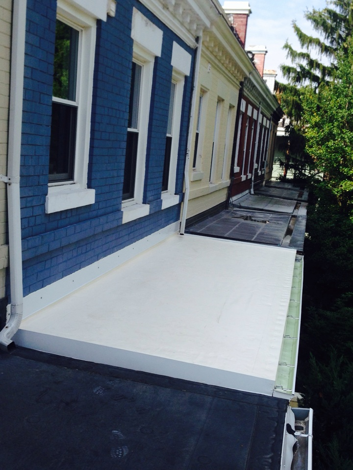 Washington, DC - The  new Front Porch is done.