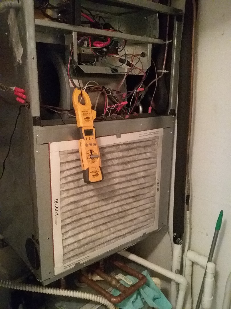 Clearwater, FL - Maintenance on the air conditioning system