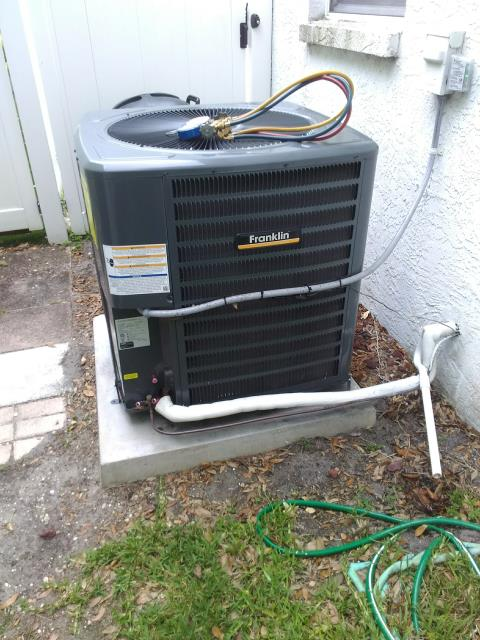 Palm Harbor, FL - 5/10/19- Our Team Member, Nathan Logan performed  a Preventative Maintenance Inspection A/C tune up for our valued customer to improve air quality and extend A/C system life.