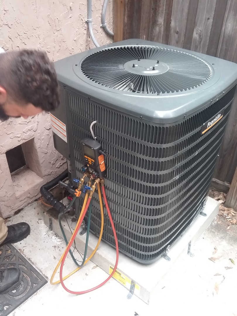 Palm Harbor, FL - 16 seer Franklin unit with electric heat