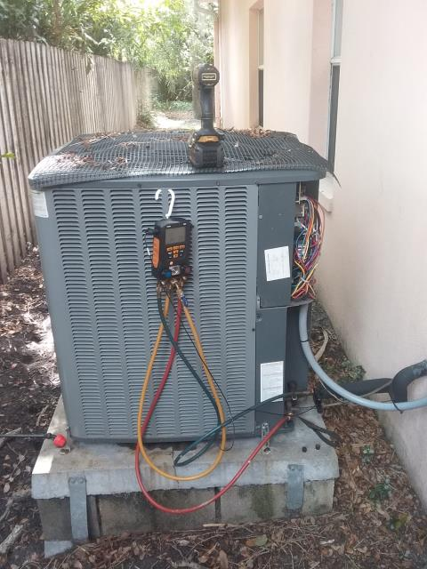 Safety Harbor, FL - On 7/1/19 Our Team Members, Daniel Harrison and Rex Vanhorne replaced an evaporator coil for our valued customers under labor and parts warranty.  The evaporator coil is an essential part of the A/C system. If it isn't doing its job, then the system will experience extra strain and may ultimately fail.  Our customers recognize that a system is only as good as the individual parts of the system and are pro-active in both preventive maintenance and addressing their A/C system service needs.