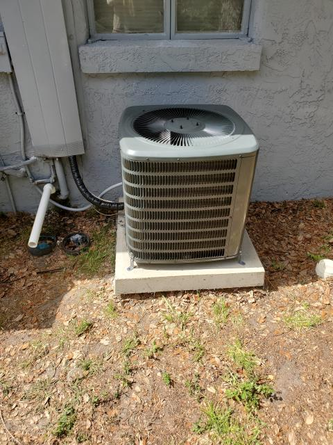 Seminole, FL - On 7/1/19 our Team Members Daniel Harrison and Rex Vanhorne were dispatched to replace both of the locations condenser breakers with 15 amp GE breakers as well as to repair part of the drain line and trap.  The A/C system had been upgraded by the property owners.  Installing new air conditioning systems provide much more efficient air movement throughout the home. Investing in a new A/C unit can also help eliminate airborne pollutants such as dust, pollen, and can even prevent mold from infiltrating the home's air supply. New air conditioners are designed to work smarter, which means they keep the home comfortable without wasting energy. They offer consistent cooling with lower energy costs on a daily basis and are a great investment in both comfort and value.