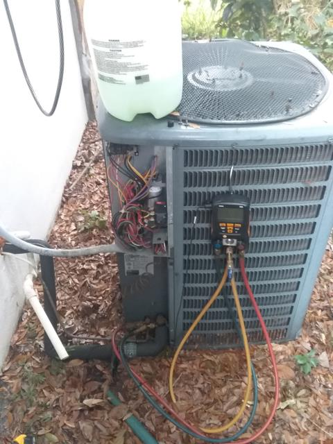 Palm Harbor, FL - 12/17/19 Our team member, Ben Decker was thorough and efficient as he completed a VIP cleaning for one of our valued VIP customers.  Our VIP customers know that proper maintenance leads to increased A/C system lifespan.   A well-maintained system can last twice as long as a system only cared for when issues arise.