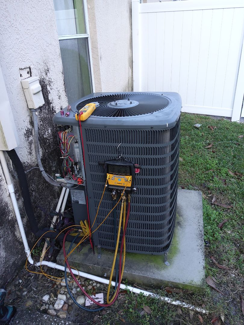 Tampa, FL - Performance cleaning on split system
