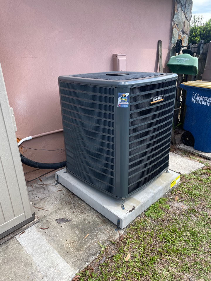 Clearwater, FL - Performing maintenance on a Franklin unit.