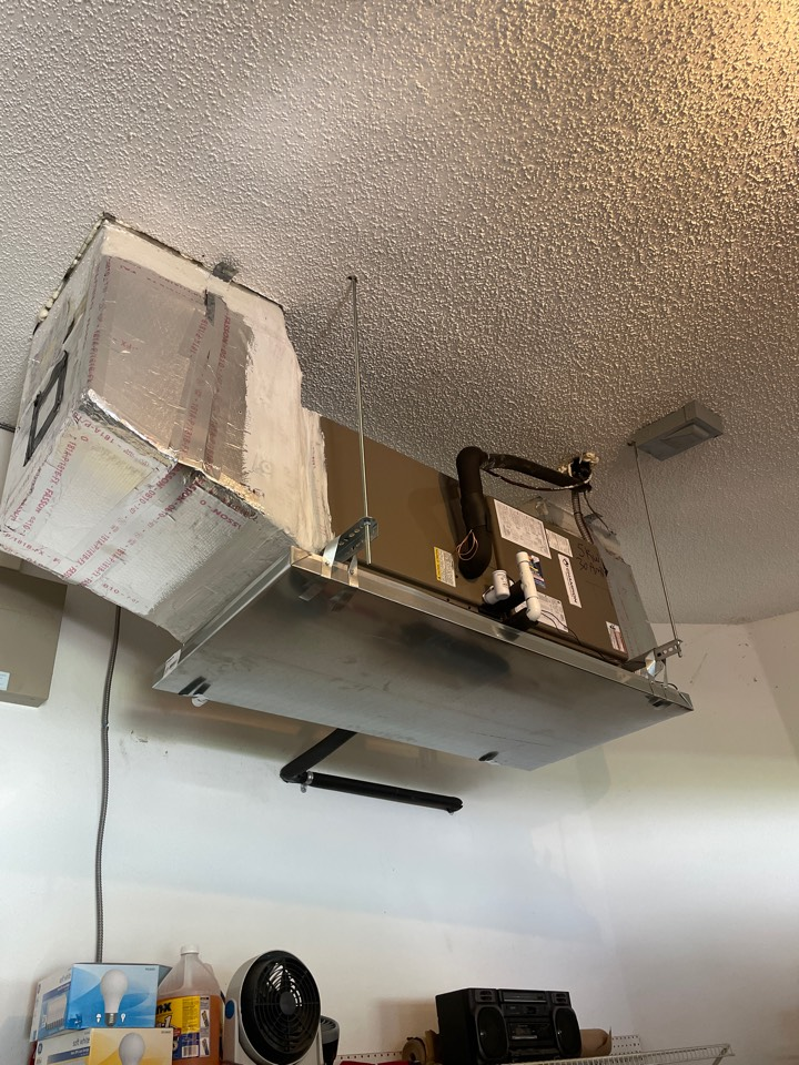 Clearwater, FL - Installing 17 seer champion unit.