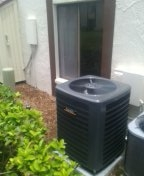 Palm Harbor, FL - Installed 14 seer 2 ton franklin heat pump split system