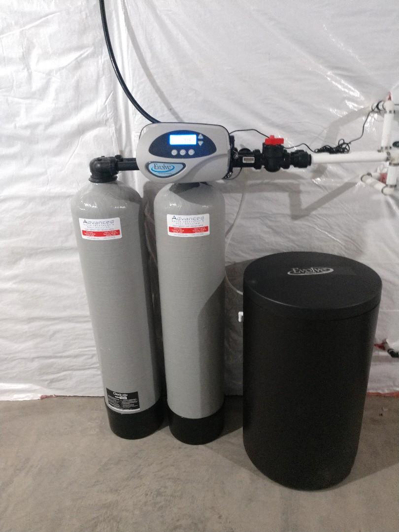 Chelsea, MI - Installing a new twin water softener