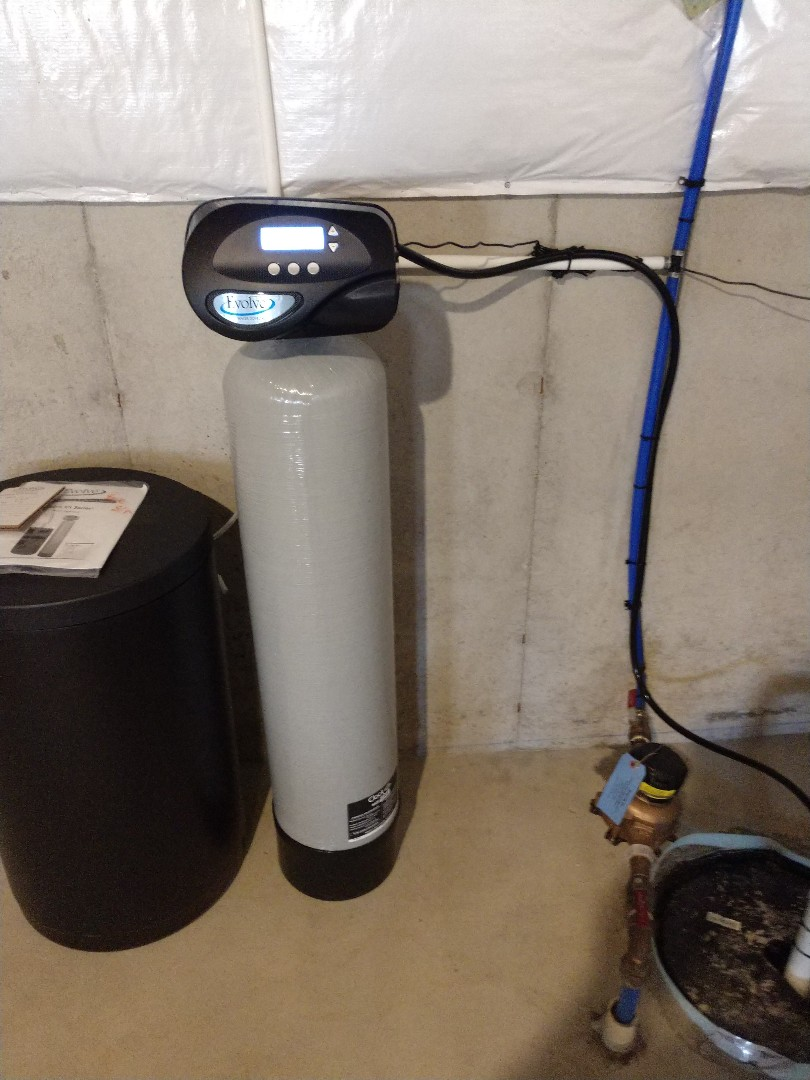 Installing a new water softener