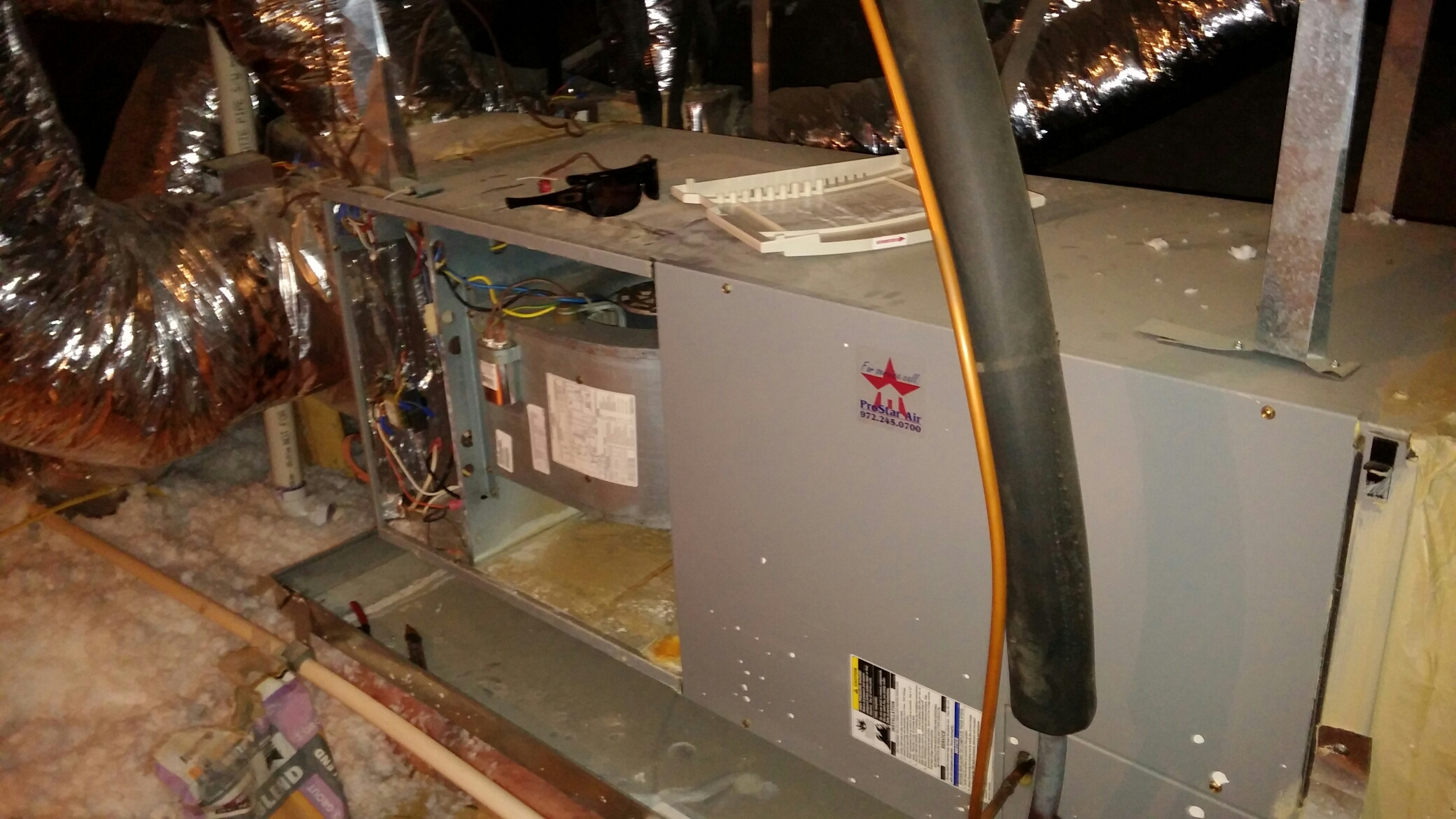Bedford, TX - Lennox furnace maintenance