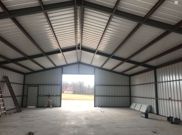 Gainesville, TX - Metal Warehouse supplied all my materials for a steel metal building and has multiple colors that I could choose from and were able to get it to me in less than a week!