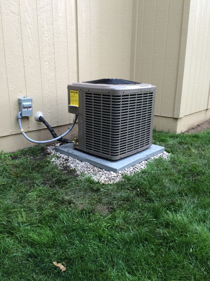 Lenexa, KS - Replaced old Lennox system with  new York system.