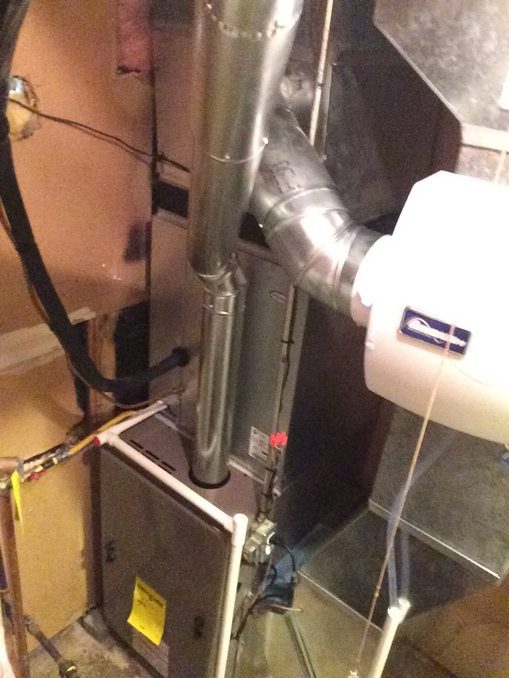Shawnee, KS - Installed York System with new Whole house humidifier