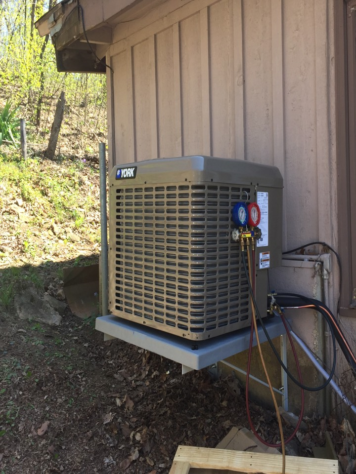 Shawnee, KS - Install a new York heating and air-conditioning system.