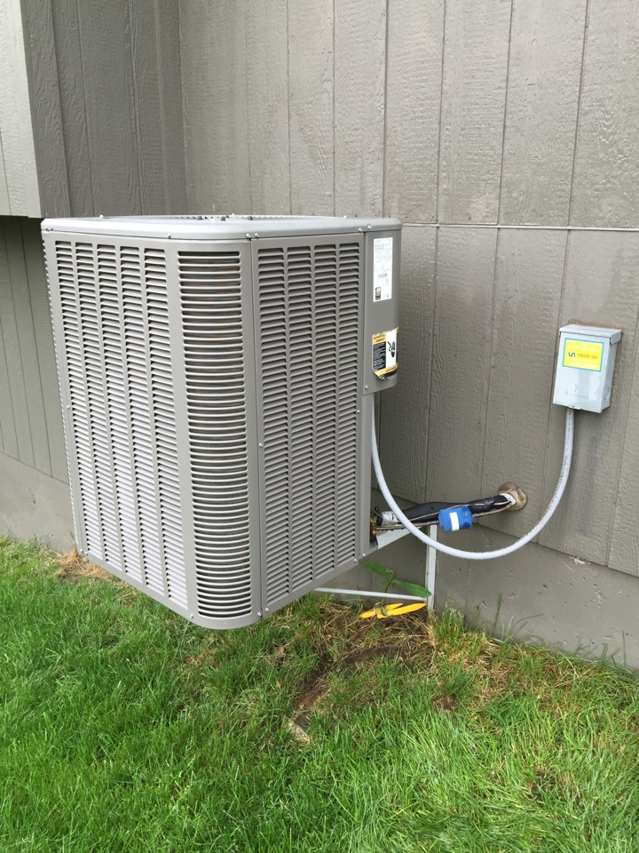 Olathe, KS - Performed tune up on 2010 Lenix air-conditioner. Check electrical wiring and connections. Check for 10 a Freon temperatures and pressures. Charge system to correct levels. Check filter. Check system operation. Wash condensing coil.