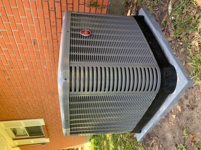 Perkinston, MS - Installed Rheem 3 Ton air conditioning system.