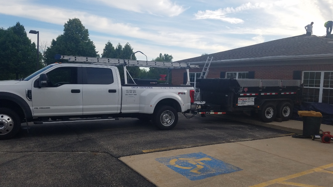 Lindenhurst, IL - Beginning commercial roof replacement at daycare center in Lindenhurst Illinois