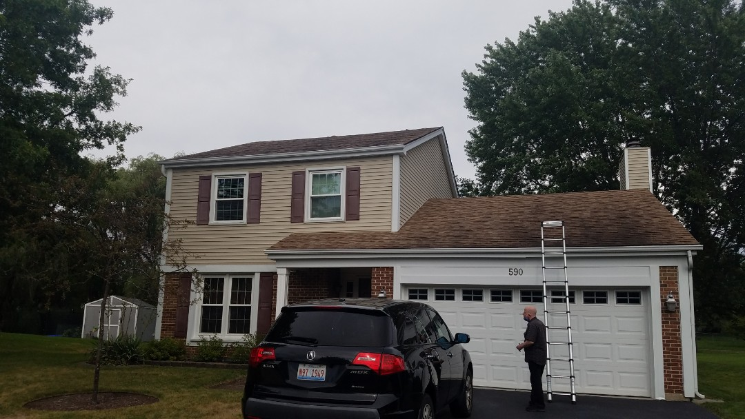 Roselle, IL - Initial inspection in Roselle