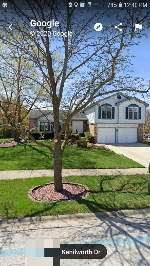 Schaumburg, IL - Vinyl roof agreement for homeowners in Schaumburg on Kenilworth Drive