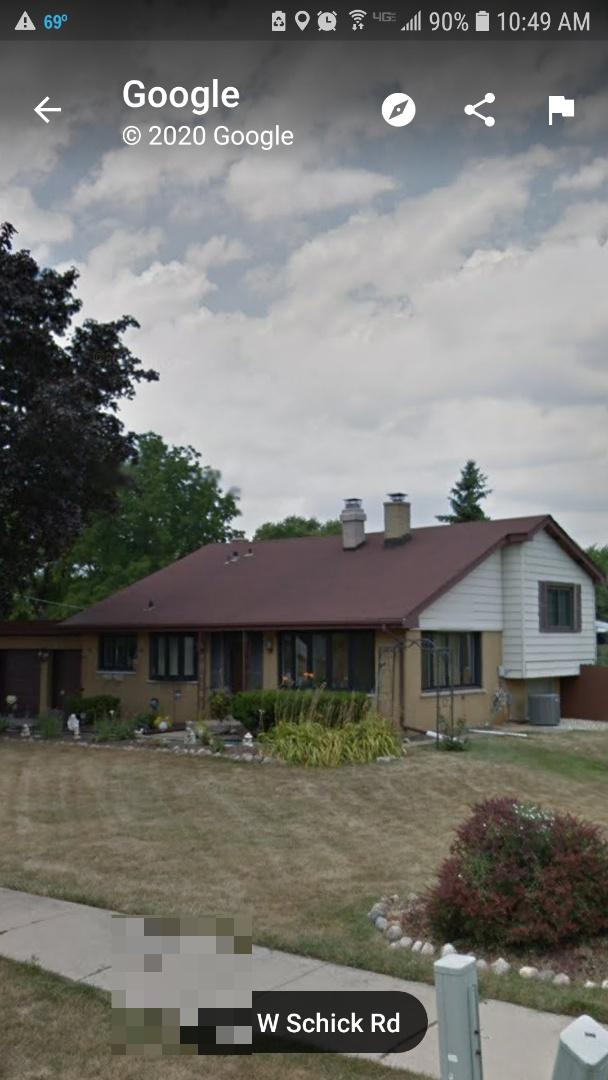 Bloomingdale, IL - Re-roofing project in progress in Bloomingdale on Schick Road