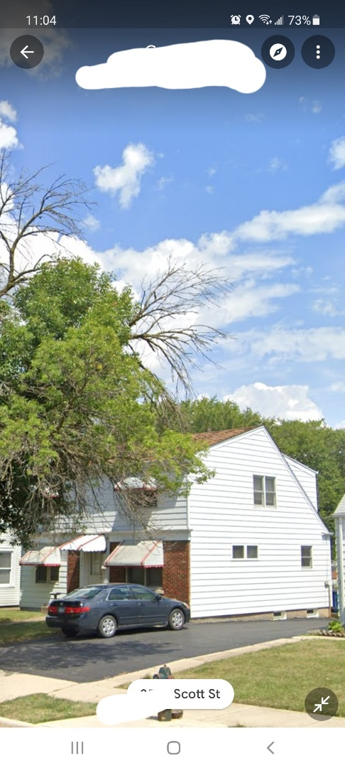 Franklin Park, IL - Initial free inspection for hail and wind damage in Franklin Park on Scott street