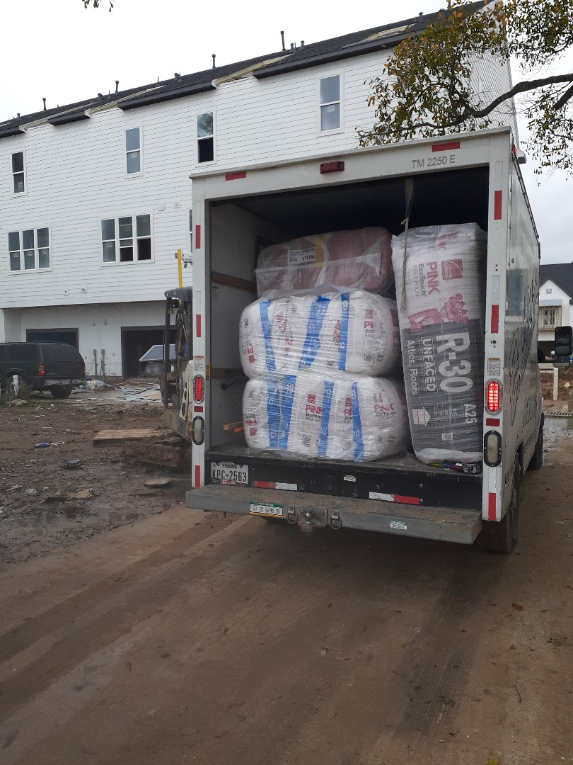 Houston, TX - Insulating intown homes