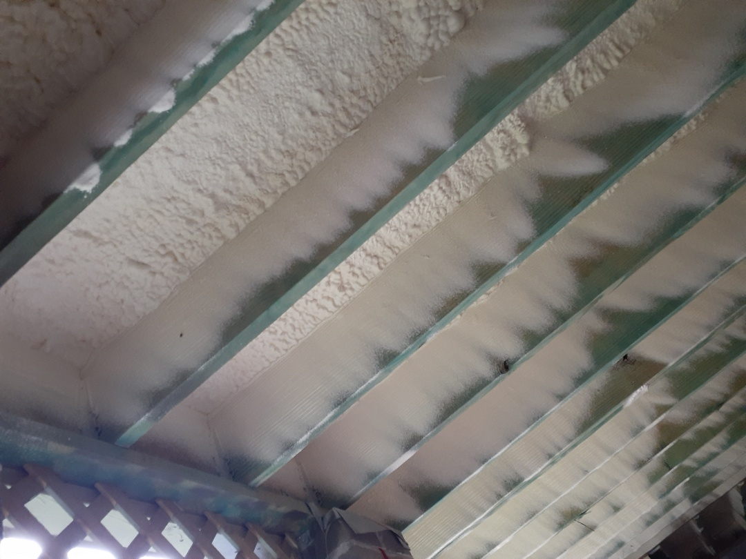 "Houston, TX - 1.5"" closed cell spray foam"