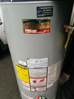 Lexington, MA - Leaking water heater