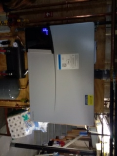 Newton, MA - Combination boiler and hot water heater replacement