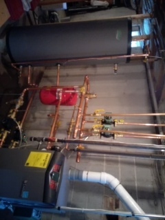 Newton, MA - In direct water heater replacement