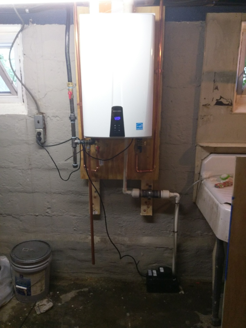 Boston, MA - Babies installation on demand tankless water heater