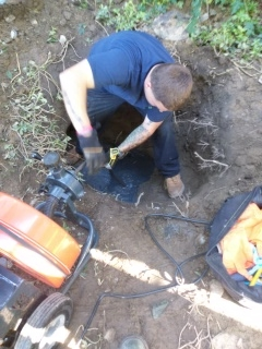 Newton, MA - Main drain clog