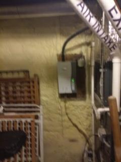 Waltham, MA - Steam humidifier install