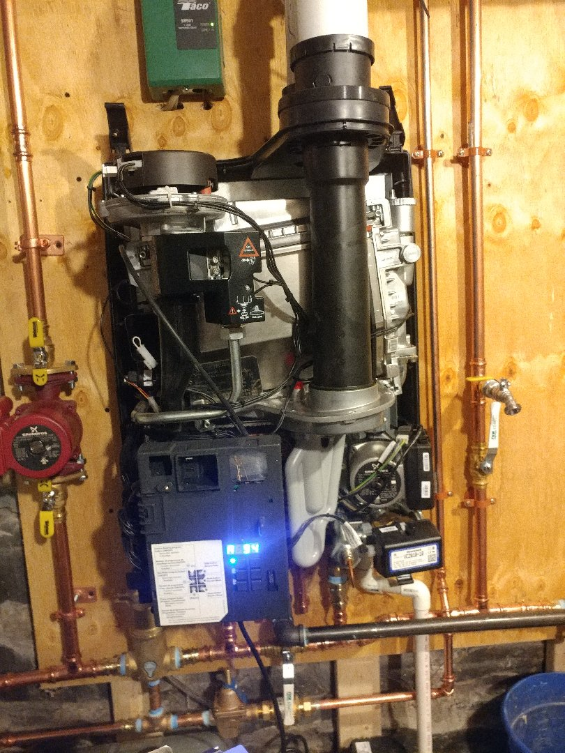 Cambridge, MA - Rinnai tankless boiler install