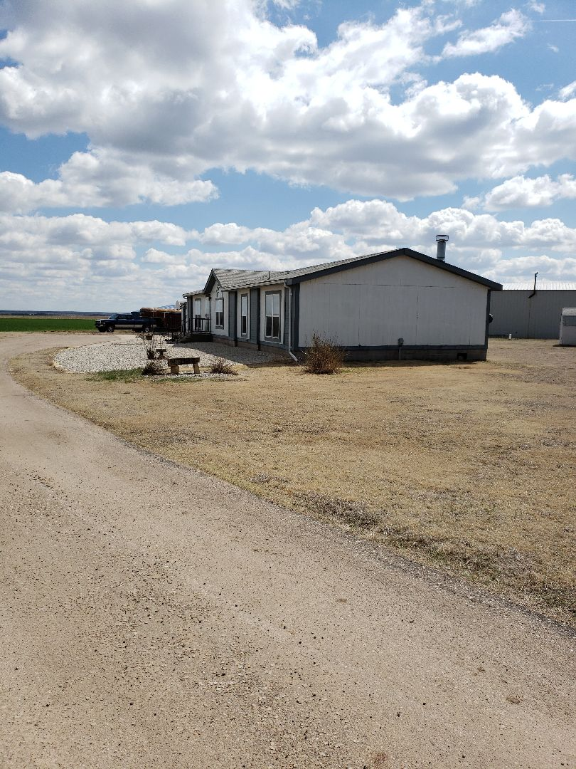 Brownell, KS - Out here between Bazine and Ness City, KS! This family wants to know what options we have in metal roofing! Let us k ow if you would like to here what we have to offer!