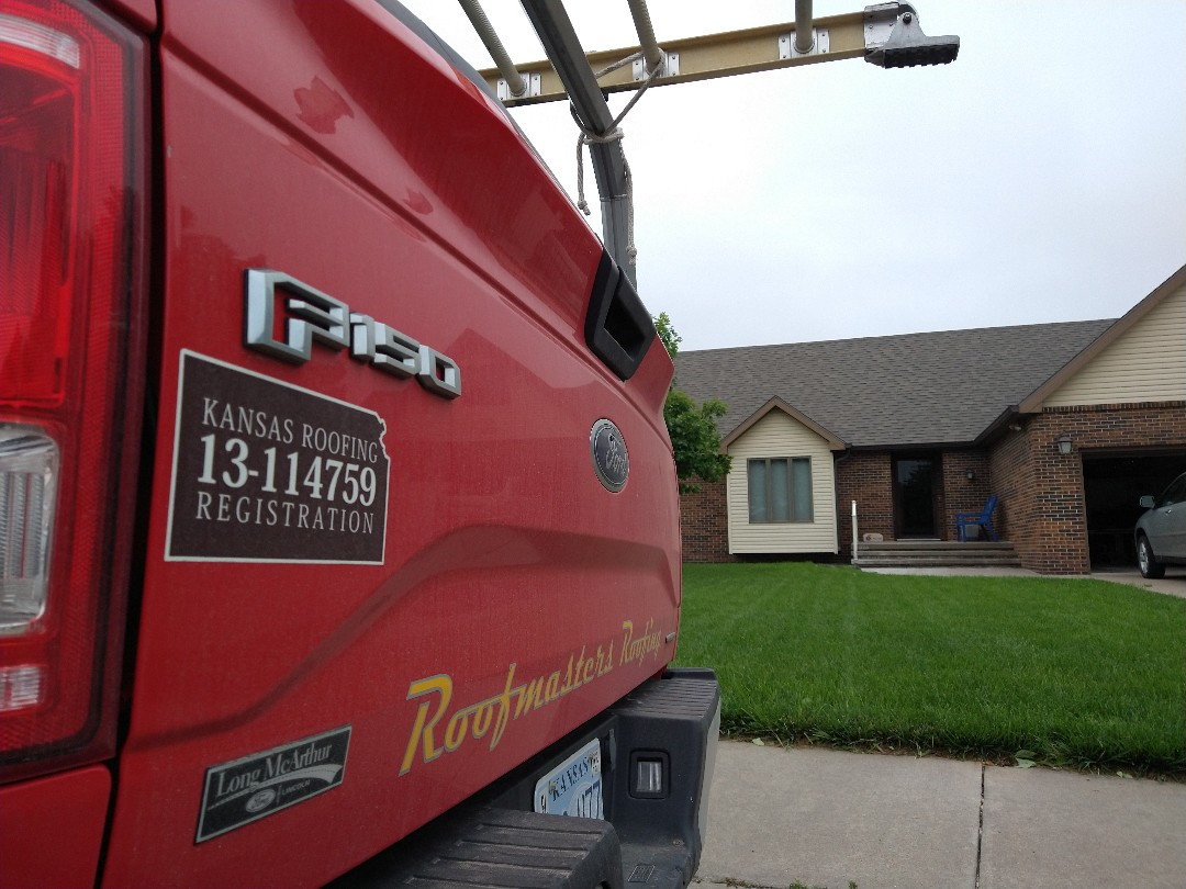 Hays, KS - Recent storms have us out inspecting roofs.  Give us a call today!  We've got you covered!